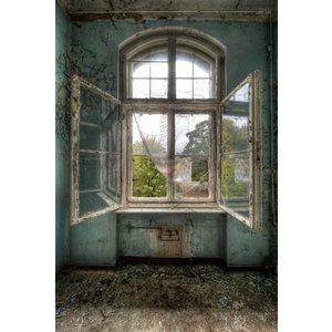 MondiArt Painting glass of Chernobyl 80x120cm