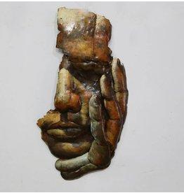 Eliassen Muurdecoratie 3D Denker
