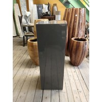Column high-gloss Urta dark gray 80 cm