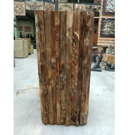 Eliassen Base Woddy Wood 45x45x100cm