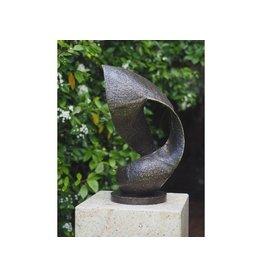 Eliassen Bronze abstrakt Modern 55 cm