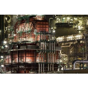 Eliassen Glasmalerei 60x90cm Nacht