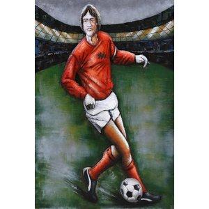 Eliassen Painting metal 3d 80x120cm Footballer