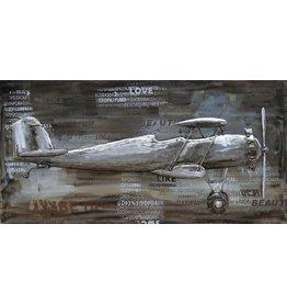 Eliassen Painting 3d metal 70x140cm 2-decker