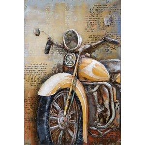 Eliassen 3D painting metal 120x80x7cm HD
