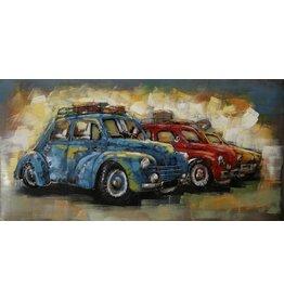 Eliassen Metal 3d painting Row Cars