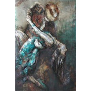 Eliassen Painting metal 3d 80x120cm Dancers