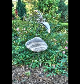 Figure bird stainless steel Doris