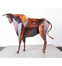 Eliassen Image of bull metal