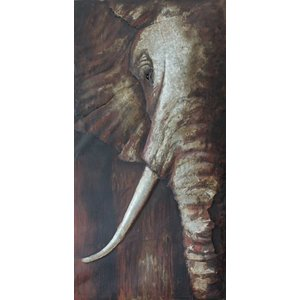 Eliassen 3D painting 75x150cm Elephant