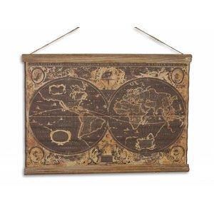Eliassen Wandkaart Orbis Geographica