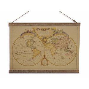 Eliassen Wall map Mappe du Monde