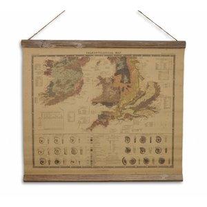 Eliassen Landkarte von Paläontologie