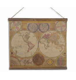 Eliassen Wandkarte Letzte Karte der Welt