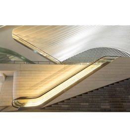 Ter Halle Glass painting 80 x 120 cm Escalator