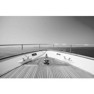 Ter Halle Glasmalerei 80 x 120 Vorderseite des Bootes