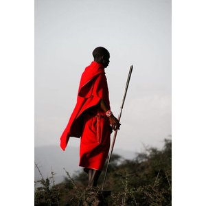 Eliassen Foto op glas schilderij 80x120cm Ethiopiër