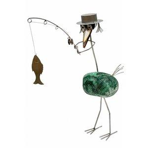 Vissende vogel RVS Casanova M