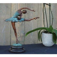 Beeld brons ballerina 32 cm