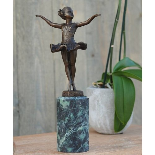 Eliassen Beeld brons danseres girl art