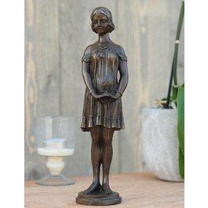 Eliassen Sculpture bronze woman art