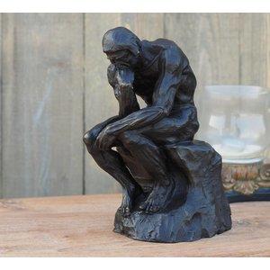 Eliassen Bild Bronze Denker von Rodin 28 cm