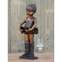 Beeld brons ballerina 37 cm