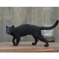 Beeld brons kat