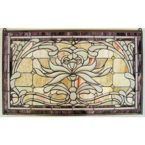 Eliassen Stained glass window 52x88cm Artz