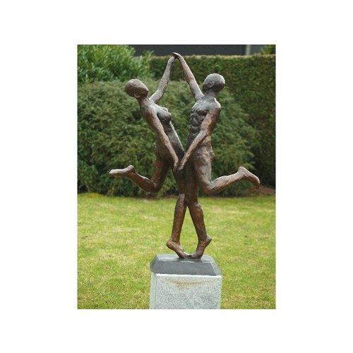 Eliassen Bronzen beeld modern danspaar