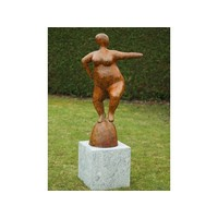 Bronzen dikke dame 2