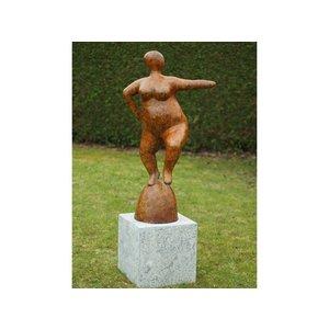 Eliassen Bronze dicke Dame 2