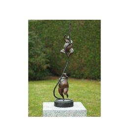 Eliassen Bronze fat ladies on a cord