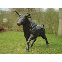 Bronzen grote stier