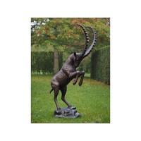 Bronzen steenbok