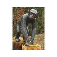 Bronzen chimpansee