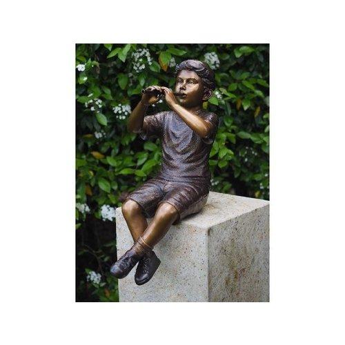 Eliassen Bronzen jongen met fluit