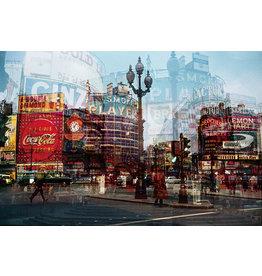 Ter Halle Glasschilderij 110 x 160 cm City