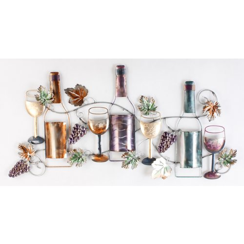 Eliassen Wall decoration Bottles and wine
