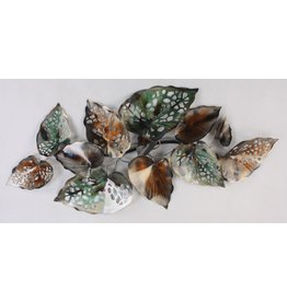 Eliassen Muurdecoratie Leaves
