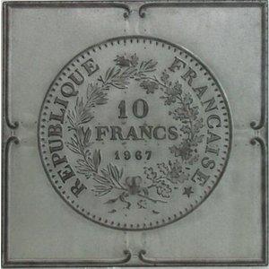 Eliassen 3D painting 71x71cm French franc