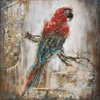 3D schilderij canvas 80x80cm Ara