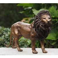 Beeld brons leeuw