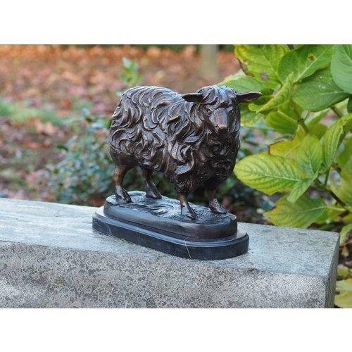 Eliassen Beeld brons klein schaap