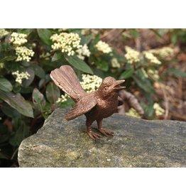 Eliassen Bild Bronze Vogel mit ausgebreiteten Flügeln