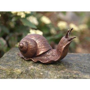 Eliassen Beeld brons kleine slak
