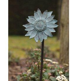 Eliassen Gartenfeuerzeug Bronze Sonnenblume auf Stick