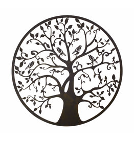 Eliassen Wanddeco rond Tree of life 95cm