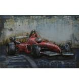 Eliassen Malerei 3D Eisen 60x40cm Ferrari