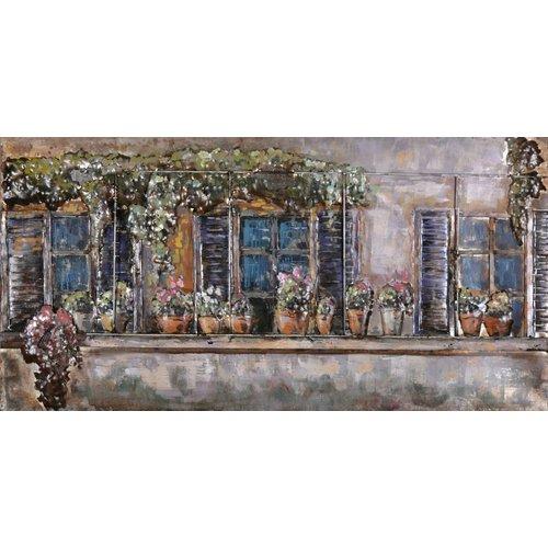 Eliassen Painting iron 3D 60x150cm Balcony